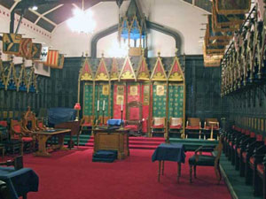 The Prince Masons' Room